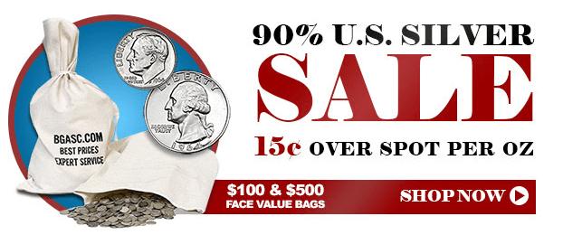 90% junk silver banner