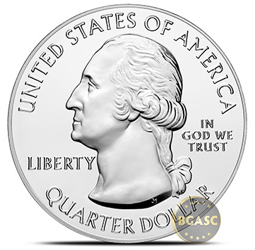 America the beatiful obverse