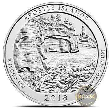 Apostle island ATB coin 2018 BGASC