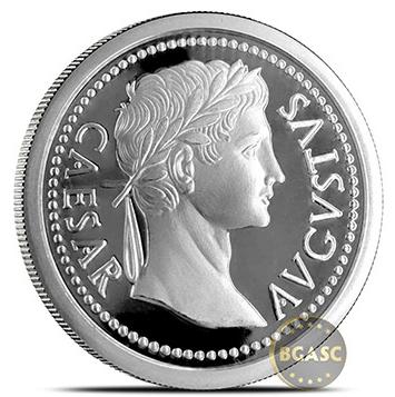 Augustus caesar rounds front