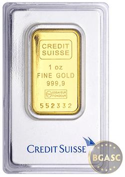 Gold Bar Credit suisse