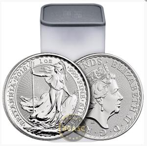 Silver Britannia rols