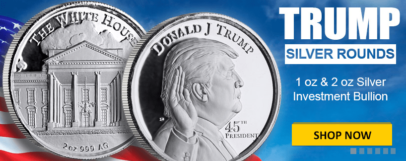 Trump Banner for one ounce and two Ounes