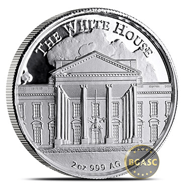 Trump round reverse 2 ounce size