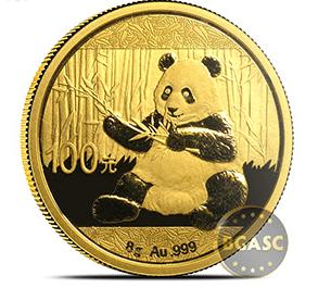 chinese 200 g gold panda
