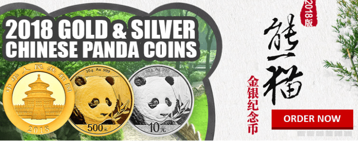 chinese gold and silver pandas 2018