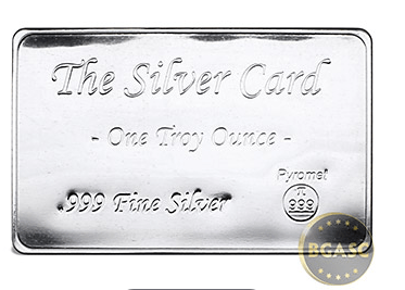 the silver card