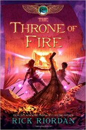The Throne of Fire - The Kane Chronicles, Book Two.jpg