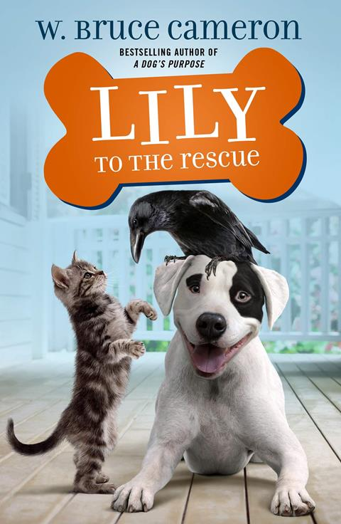 Lily to the Rescue by W Bruce Cameron Book Cover