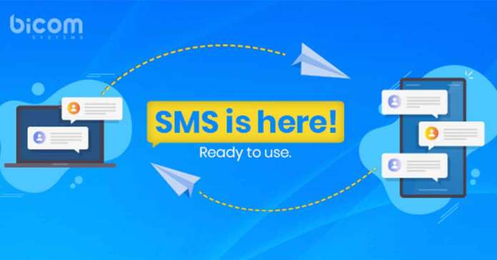 SMS is here