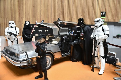 Darth Vader Delorean Euskal Encounter 23