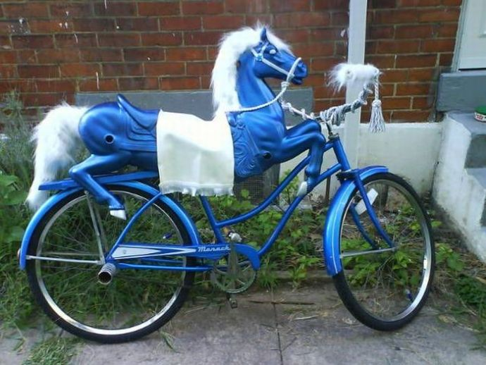 As Sheldon rolled into his mid-20s a girlfriend at the time convinced him to finally part with his 'pretty ponies.' With tears in his eyes I watched him build this bike – He and I both knew it was too early to have let go of his beloved ponies.
