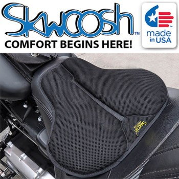 Skwoosh Motorcycle Seat Cushion Pads