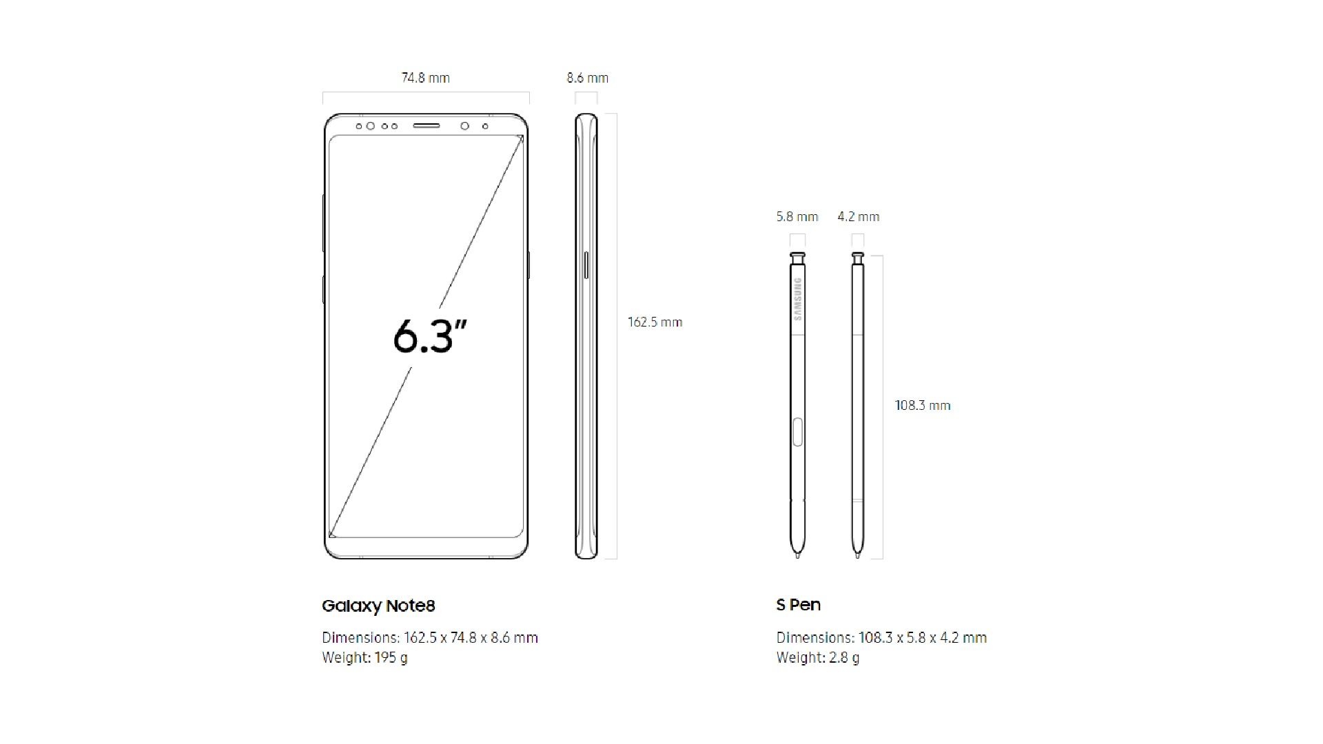 hight resolution of note 8 size