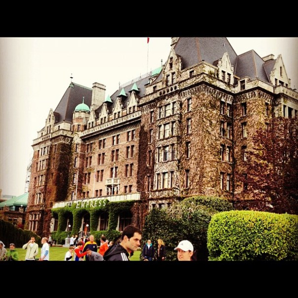 The famous #Empress! #fairmont #hotel #victoria - from Instagram