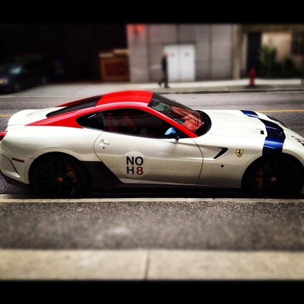 Do not H8 #Ferrari #noh8 #vancouver - from Instagram