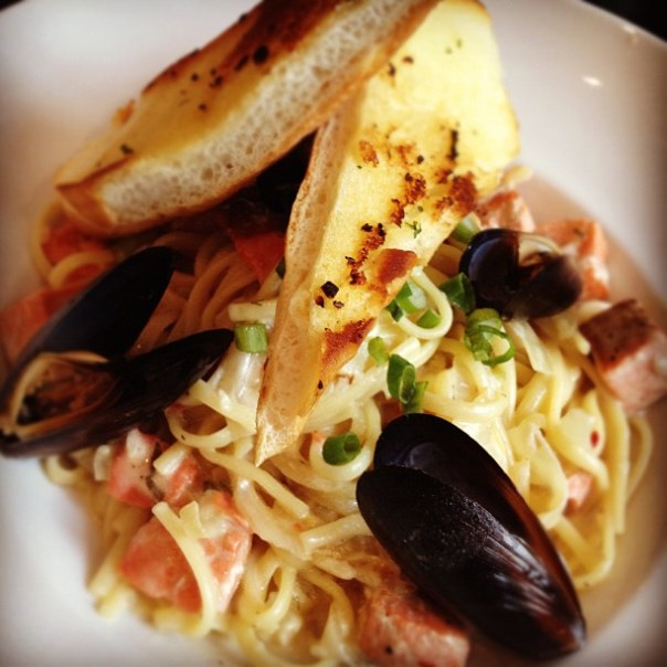 Aquaman's dinner! #Seafood #Linguini - from Instagram