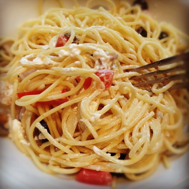Mmm yummy Billyaghetti! - from Instagram