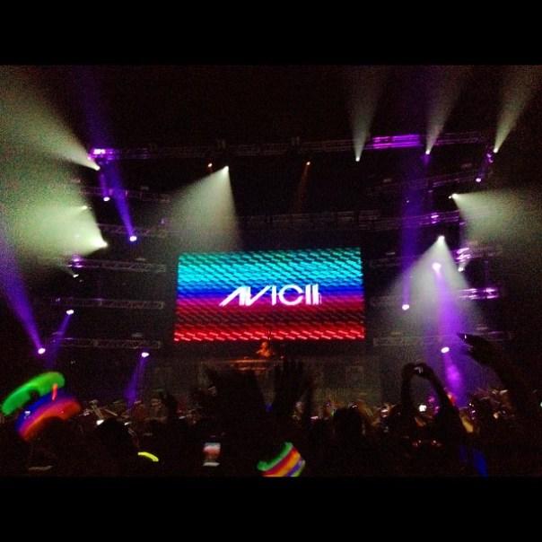 It's @Avicii time! #aviciipne - from Instagram