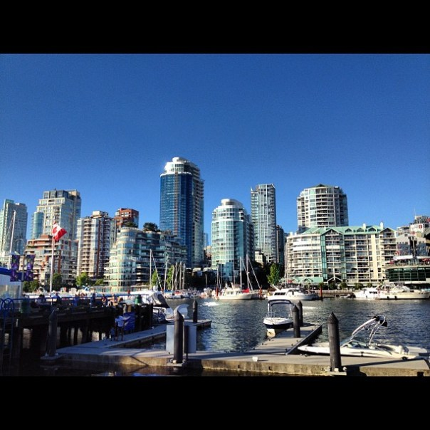 Such a beautiful evening in #Vancouver. #GranvilleIsland #Summer - from Instagram