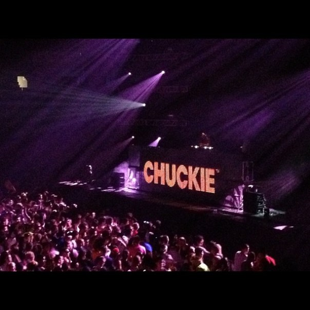 Smash it #Chuckie!! #avicii #aviciipne - from Instagram