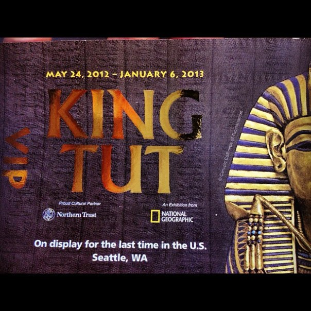 #Tutankhamun the golden #king and the great #pharaohs! - from Instagram