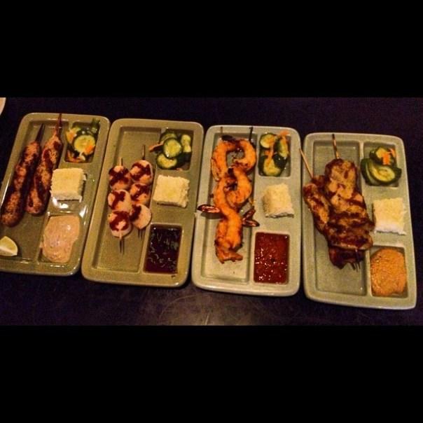 Super delicious satay plates! @WildGingerRes #2daysinseattle - from Instagram