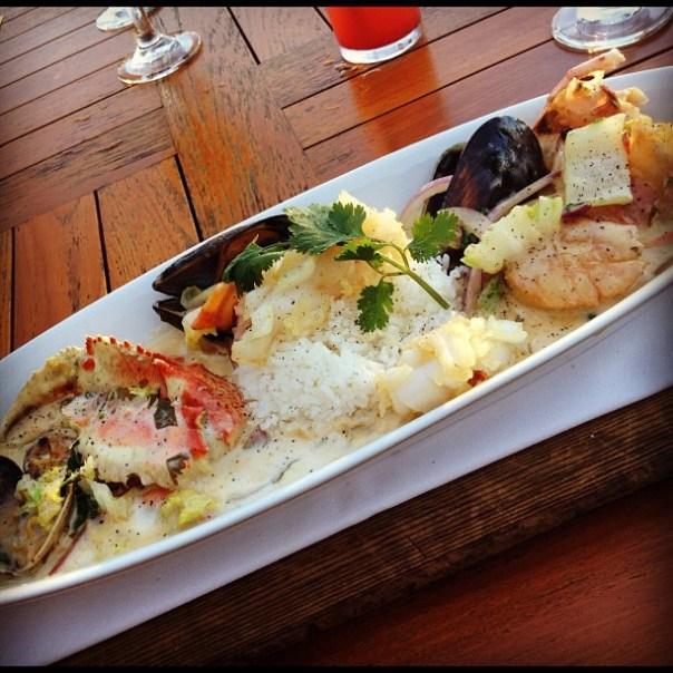 Oh my fantastic dinner! Thai #Bouillabaisse @EatDockSide - from Instagram