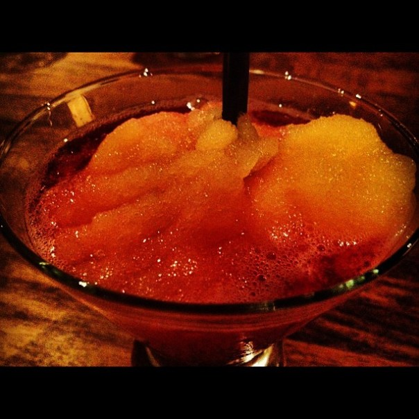 Cheers! True Blood #Bellini at @moxies_official Happy #Halloween - from Instagram