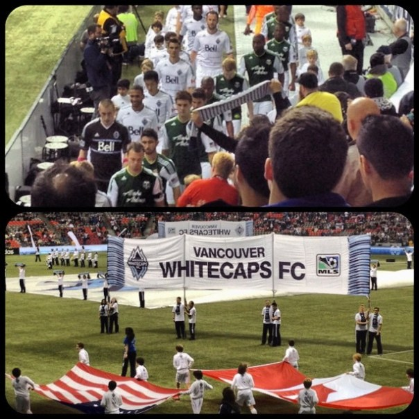 It's the last game of the season #whitecapsfc vs #portland #timbers - from Instagram
