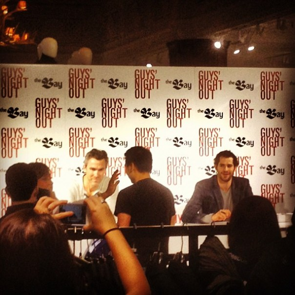 Ryan Kesler + Trevor Linden @TheHudsonsBayCo #guysnightoutvan #Canucks #vancouver - from Instagram