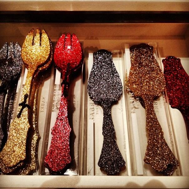 Sparkling #utensil sets! @orlingwu #gastown #shophop - from Instagram