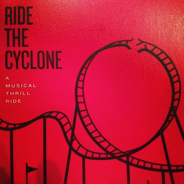 #Musical night! Ride The Cyclone @TheArtsClub #pushfest - from Instagram