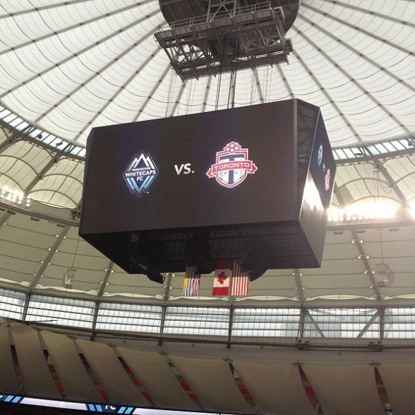 #WhiteCaps FC vs. #Toronto FC The first game of season 2013 #vwfc - from Instagram
