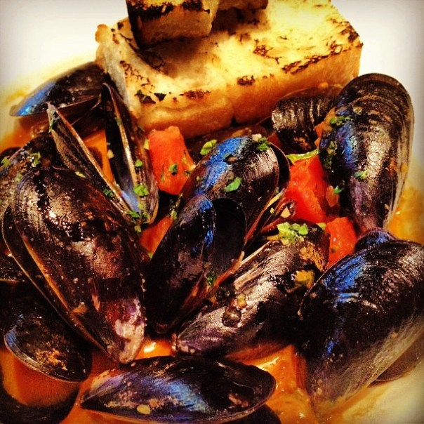 Steamed #Mussels for dinner. - from Instagram
