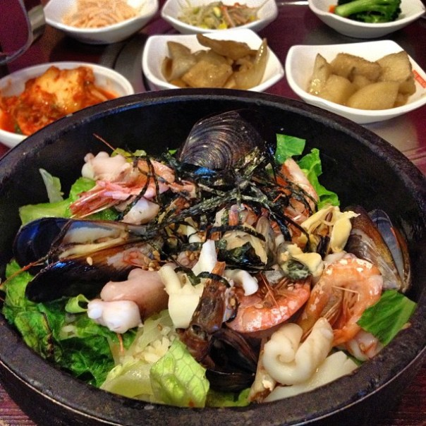 Korean food is the best! - from Instagram