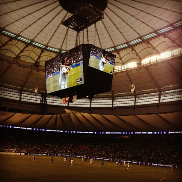 Amway Canadian Championship #Vancouver @whitecapsfc vs #Montreal #ACC #soccer #analogcamera - from Instagram