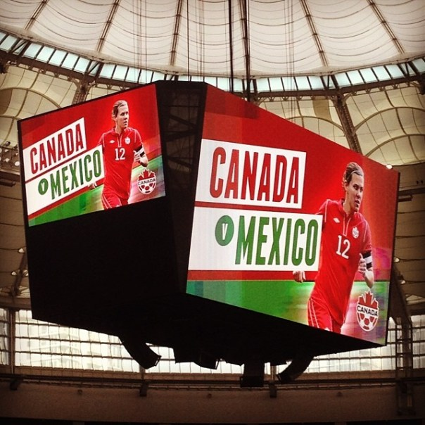 International #Soccer #Canada vs. #Mexico #CANWNT - from Instagram