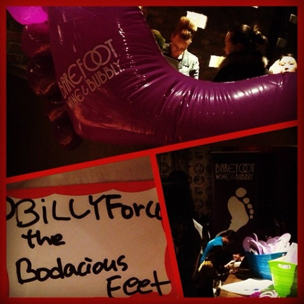 Billy the bodacious feet is here for @Barefootwine's #Pedi4Cause - from Instagram