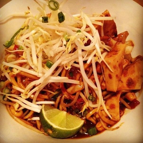 Super #healthy #premium #organic #KungPao @noodleboxcanada - from Instagram