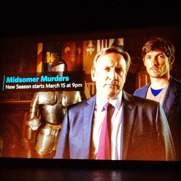 Knowledge Network: presents Midsomer Murders advanced Screening. 'I'm an old English man in Vancouver' - from Instagram