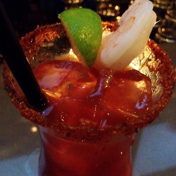 #Valentine's bloody #Red Coastal Caesar! #Gastropost - from Instagram