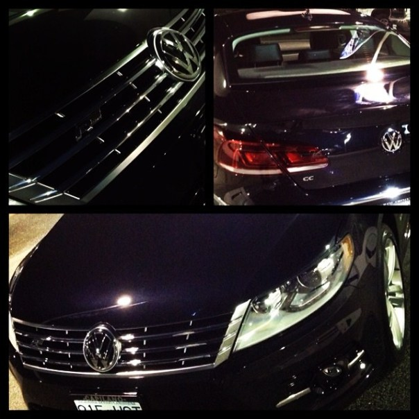 Sneak preview of my sexy ride! #Volkswagen #CC #Sportline #Rline - from Instagram