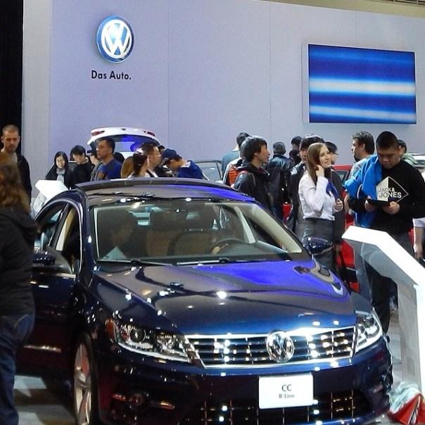 #Volkswagen CC #vanautoshow #DasAuto - from Instagram
