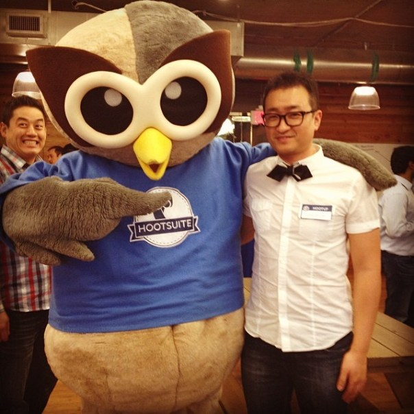 My evening event with #owly -  Social media camp @Hootsuite - from Instagram