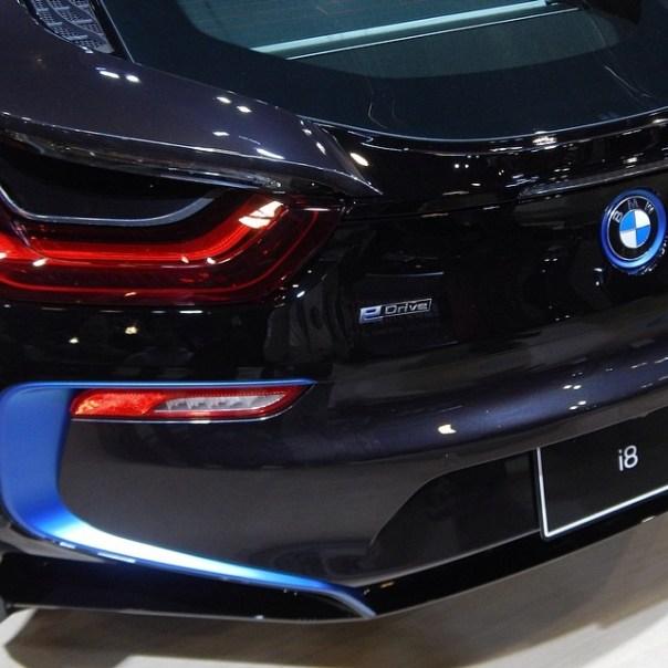 #BMW i8 #vanautoshow - from Instagram