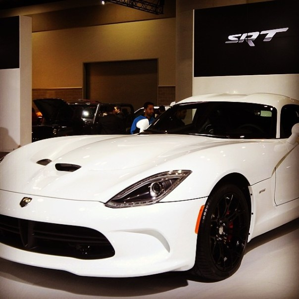 #SRT #VIPER #vanautoshow - from Instagram