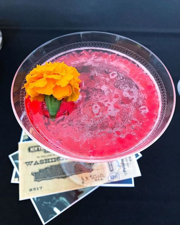 Justin Darnes @mott32van - Blood & Champagne #Mixology Night On The Pier @harmonyarts - from Instagram