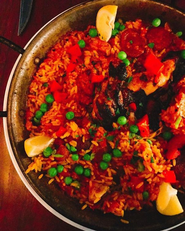Another #paella evening @persesocialcorner - from Instagram