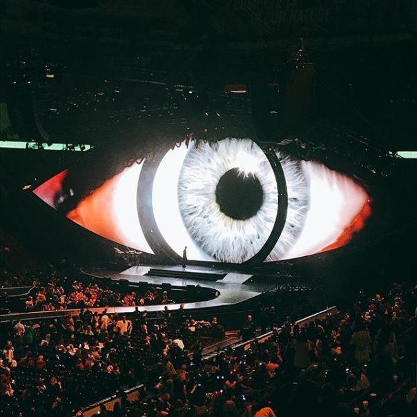 It's about time! @katyperry #witnessthetour 👁 #witnesskp @rogersarena #katyperry #vancouver - from Instagram
